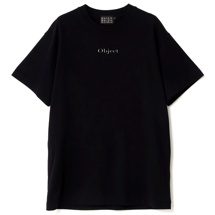 KNTHW Object Tee Black