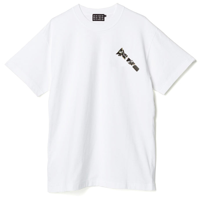 KNTHW Crack Bolt Tee White