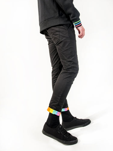 Berlin Stretch Skinny Chinos - Rainbow