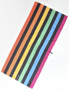 Microfiber Beach Towel - Berlin Stripes