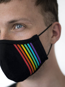 Berlin Rainbow Face Mask