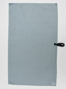 Bunnies Gym Towel - Light Grey-Blue