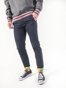 Marine Stretch Skinny Chinos - Rainbow