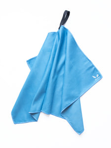 Bunnies Gym Towel - Blue