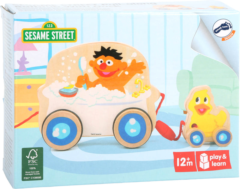 Sesame Street Pull-Along Bath with Duck