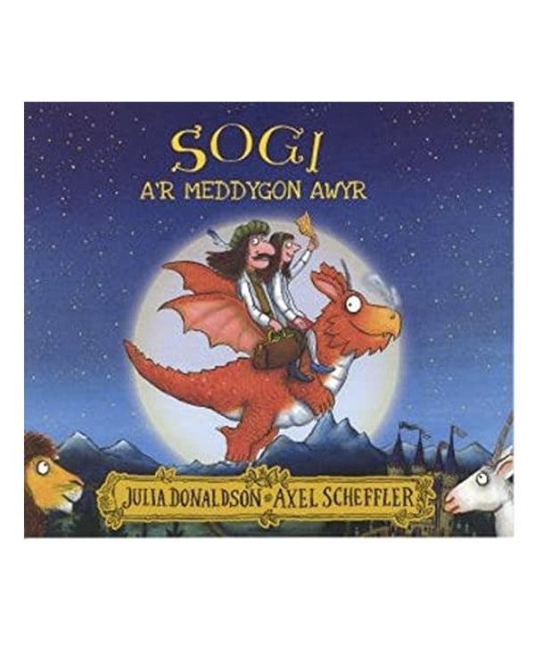 Sogi a'r Meddygon Awyr - Welsh Edition of Zog and the Flying Doctors