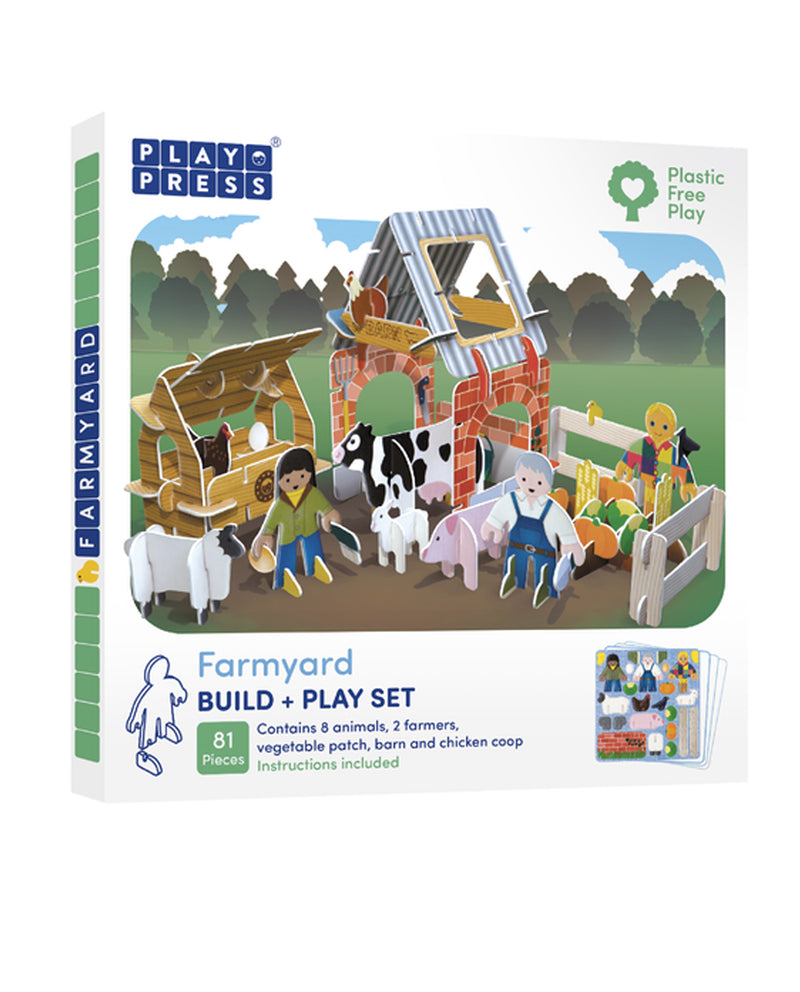 Play press Farmyard Play Set