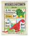 A Day with Dinosaurs - Nursery Times Crinkly Newspaper