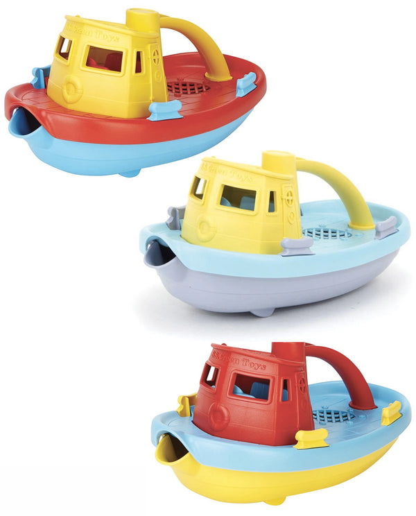 Green Toys Recycled Toys - Tugboats