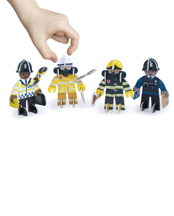 play press Play press toys Emergency Services - Rescue Team