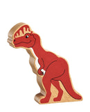 Natural Wooden Dinosaur Play Figures