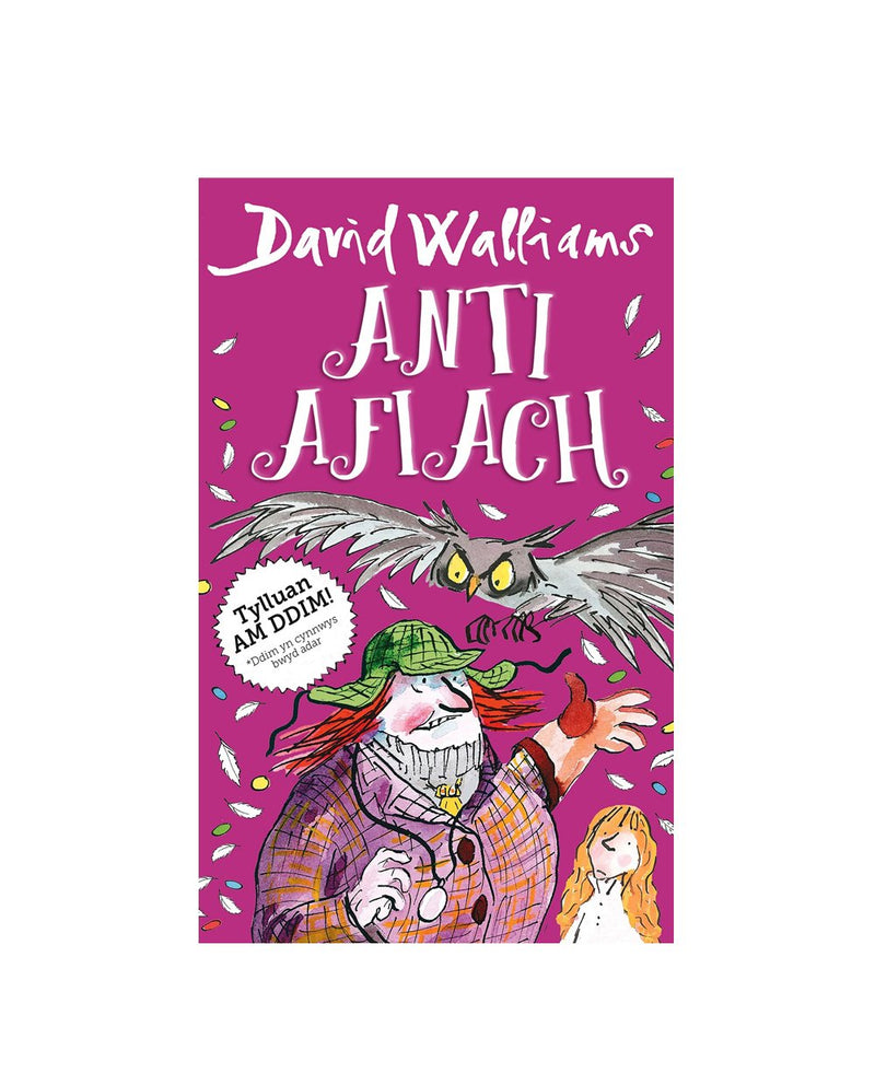 Anti Afiach - Welsh edition of Awful Auntie