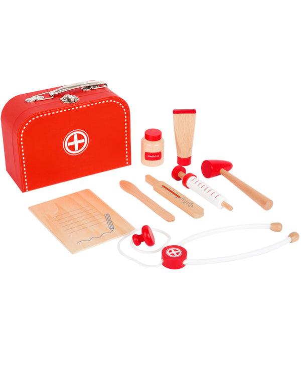 Wooden Doctor's Kit Play Set