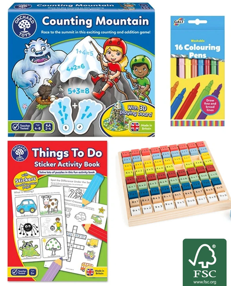Educational Set 1  - Age 4-8yrs