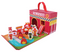 Wooden Foldaway Fire Station Play Set