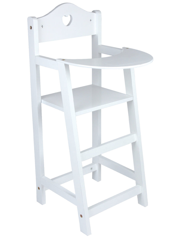 Wooden Doll's Highchair