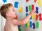 Letters and Numbers Bath Toy