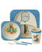 Peter Rabbit Bamboo Dinner Set