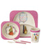 peter rabbit girls Flopsy Rabbit Bamboo Dinner Set
