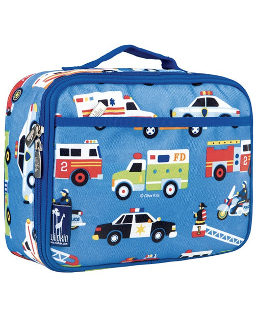 Action Vehicles Lunch Bag