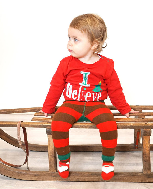 Blade and Rose 'I Believe' Christmas Top