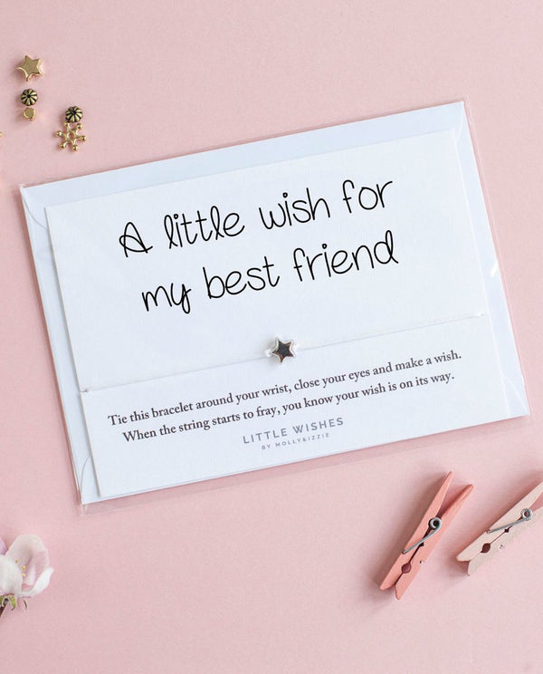 Little Wish Bracelets - Wish for my Best Friend