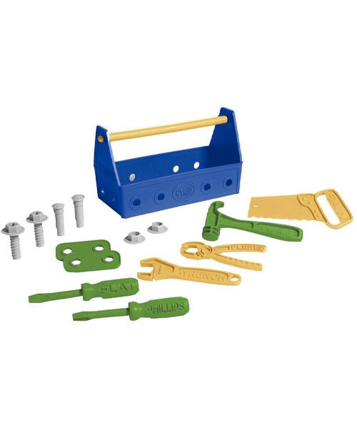 Recycled Toys - Blue Tool Set green toys
