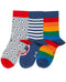 Kite organic 3pk Organic Cotton Socks