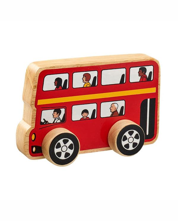 lanka kade Wooden Push Along Bus