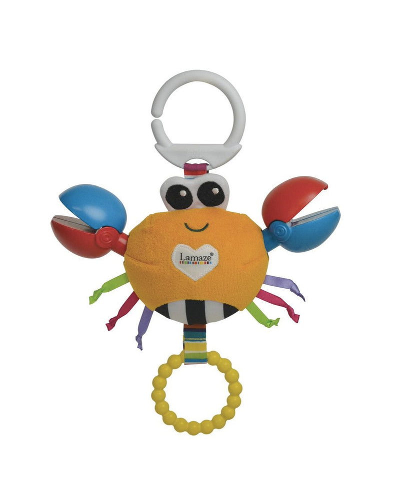 Lamaze Clackety Claude Crab Baby Toy