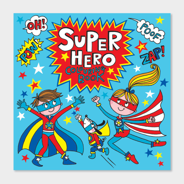 Super Hero Gift Set - Age 4-7yrs