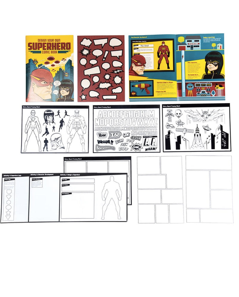 Clockwork Soldier Design your own Superhero Comic Book