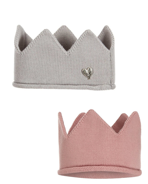 Angel's Face Knitted Crowns
