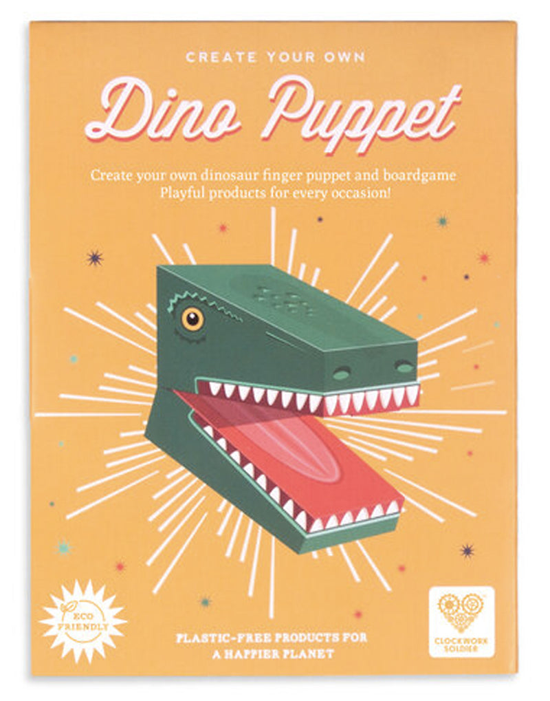 clockwork organge Create Your Own Dinosaur Puppet