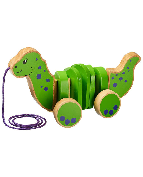 Dinosaur Pull-Along Wooden Toy