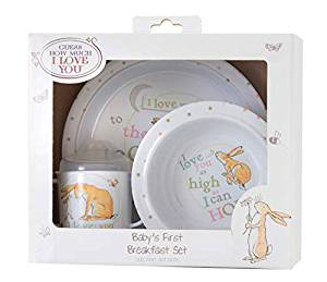 Babies First Breakfast Set - Guess How Much I Love You