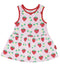 Toby Tiger Organic Cotton Strawberry Design Dress