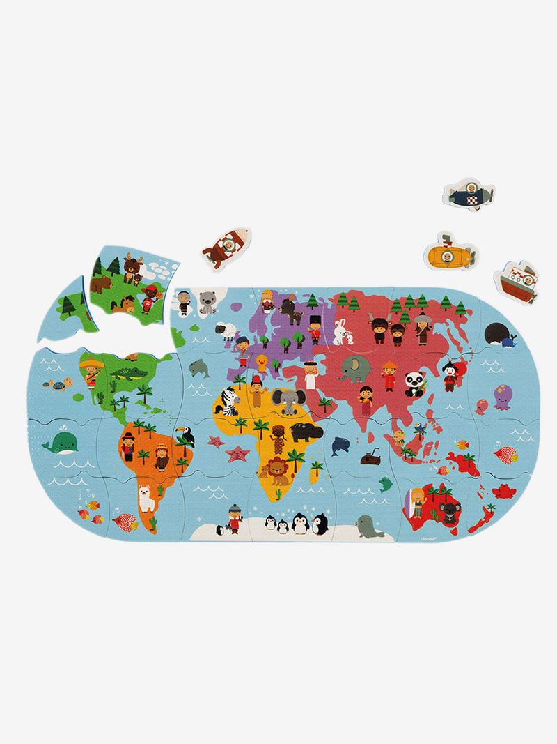 Janod Explorers Map Bath Toy