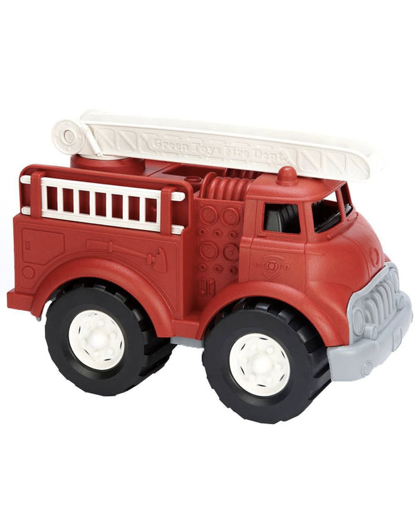 Green Toys Recycled Toys - Fire Truck