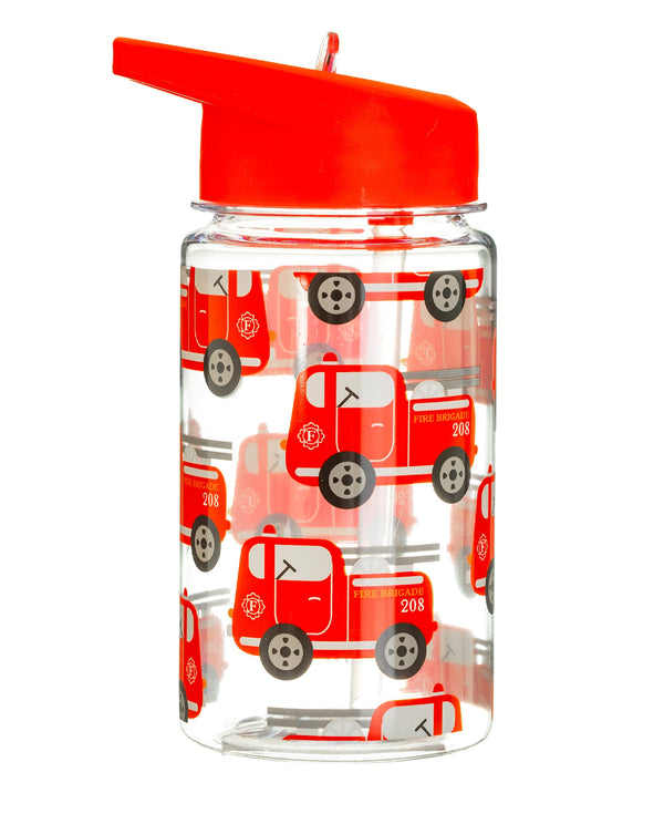 sass belle Fire Engine Design Drinking Bottle