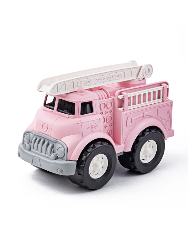 Green Toys Recycled Toys - Pink Fire Truck