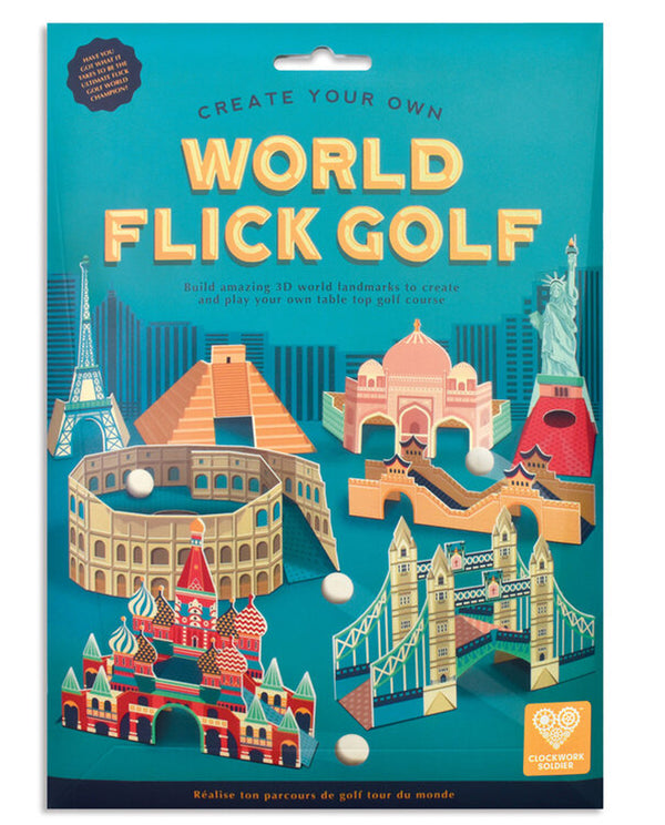 Clockwork Soldier Create your Own World Flick Golf