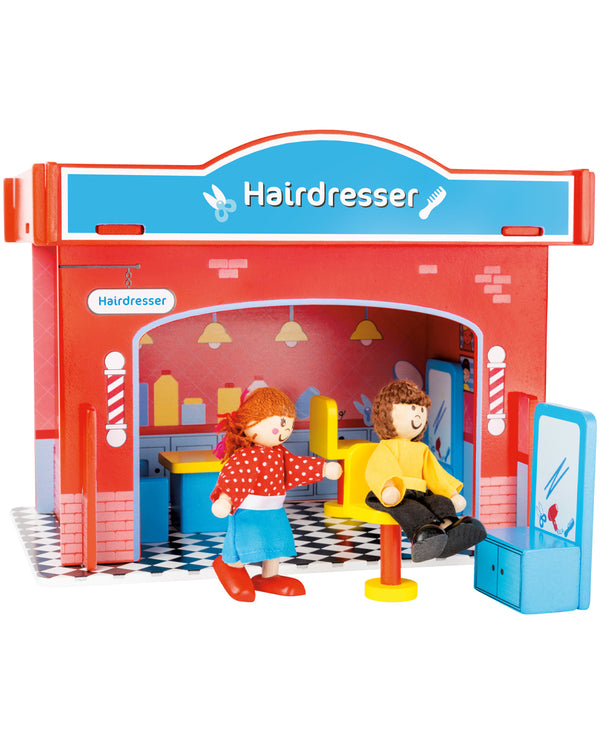 Wooden Hairdressers Play Set