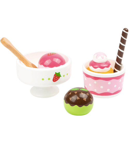 small foot Wooden Ice-Cream Set