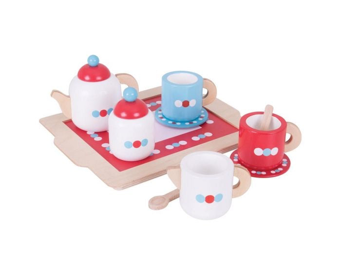Tea Set on a Tray