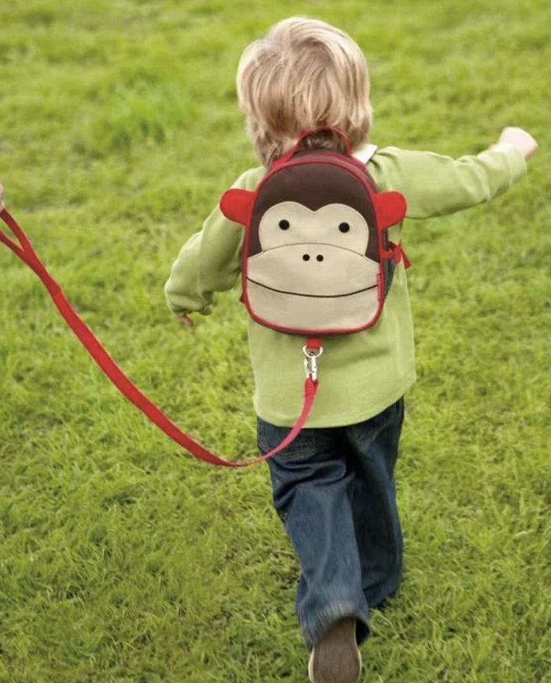 skip hop Mini Rucksacks with Reigns - Monkey
