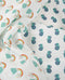 Frugi Two Pack of Organic Cotton Tractor Design Muslins