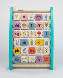 Mwnci Wooden Welsh Alphabet Abacus