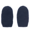 Navy Knitted Fleece Lined Mittens
