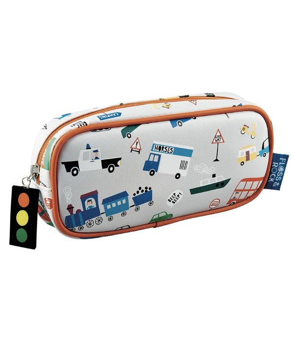 Floss Rock Transport Design Pencil Case